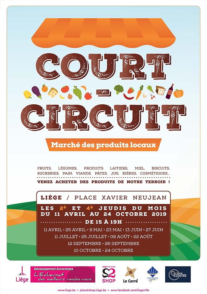 Court-circuit : le marché des produits locaux